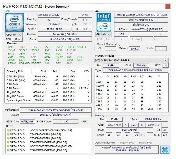 hwinfo-processor