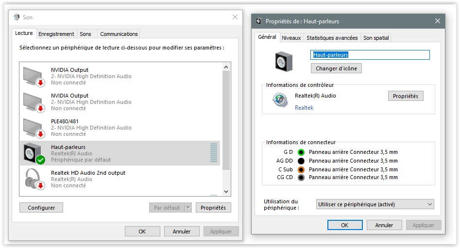reglages-son-windows10