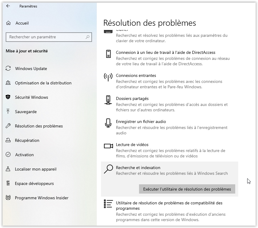 resolution-probleme-indexation-windows10