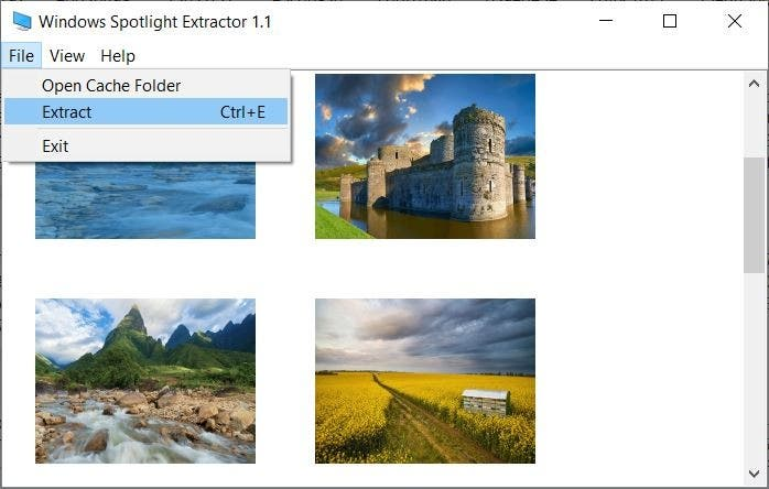 Windows-Spotlight-folder-extract