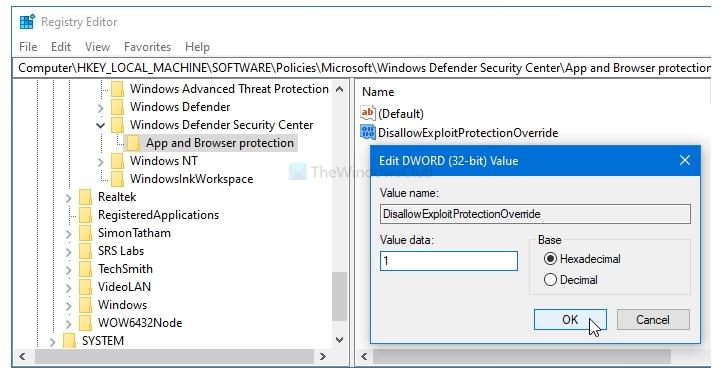 registre-exploit-protection
