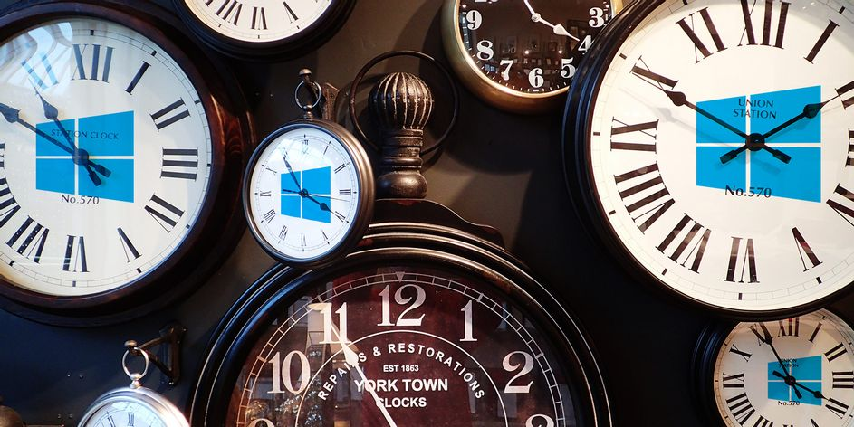 horloge-windows10