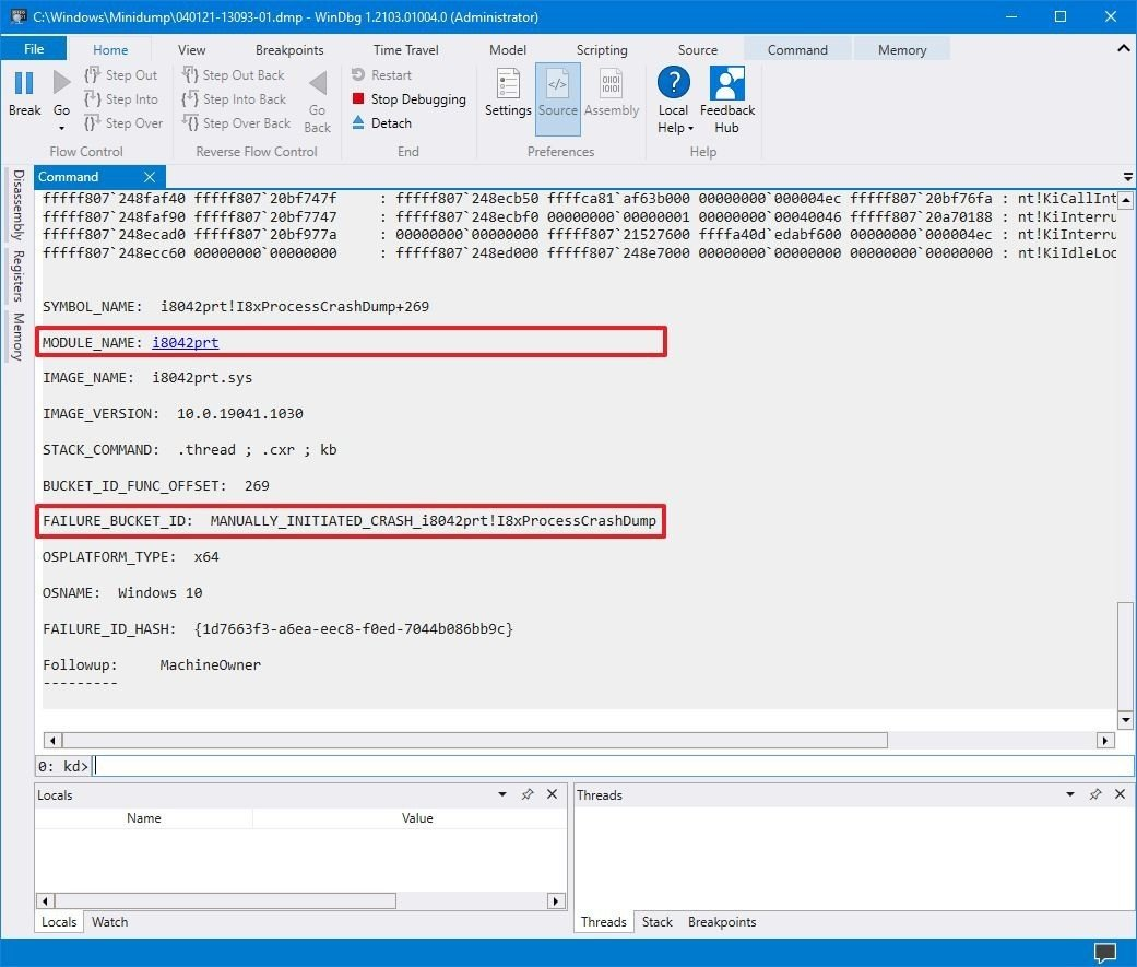 windows-10-dump-file-reason-crash